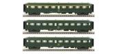 Modélisme ferroviaire : LSModel - LSM40198 - Coffret de 3 voitures rapide Nord SNCF