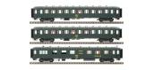 Modélisme ferroviaire : LS Model - MW40386 - Coffret de 3 voitures OCEM faces lisses