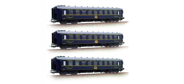 Modélisme ferroviaire : LS MODELS LSM49121 - Coffret de 3 voitures CIWL 1937 CL1 CL2 ép II-III