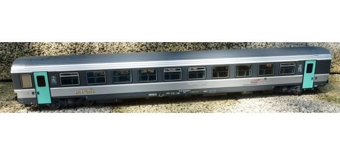Train électrique : LS MODEL -LSM40266 - Voiture VTU seconde classe Corail SNCF