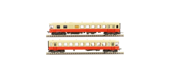 Train électrique : LS MODELS 10061S -  Autorail diesel EAD X-4504 + XR-8534