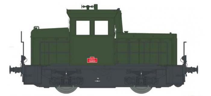 Modélisme ferroviaire : EURO PASSION MODELS EPM123313 - Locotracteur diesel Y-6422