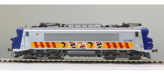 Modélisme ferroviaire : LS MODELS 10436S - Locomotive électrique BB 22258 livrée PACA - SNCF SONORE
