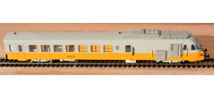 Modélisme ferroviaire : EURO PASSION MODELS EPM221502S - RTG DCC SON - Rame à Turbine à gaz - dépôt de Caen - Ep IV