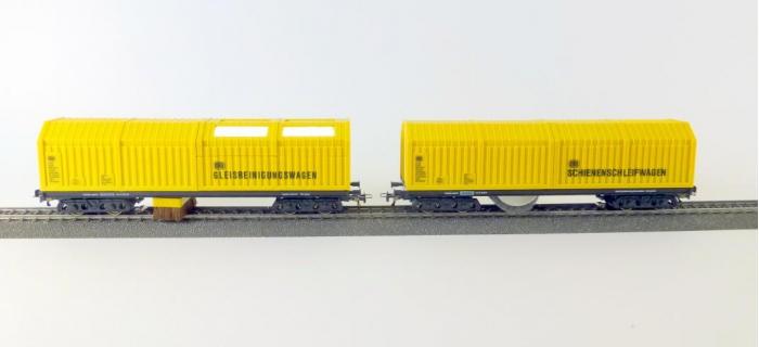 LUX9630 - Lot wagons nettoyeur et aspirateur - LUX-Modellbau