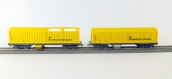 LUX9631 - Lot wagons nettoyeur et aspirateur - LUX-Modellbau