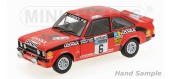 Maquette : MINICHAMPS - MINI100768406 - Ford Escort II RS 1800
