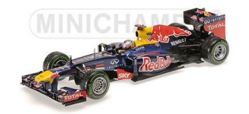 Maquette : MINICHAMPS MINI100132222 - Red Bull RB8 Vettel