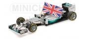 Maquette : MINICHAMPS - MINI110140544 - M-B AMG F1 Team W05