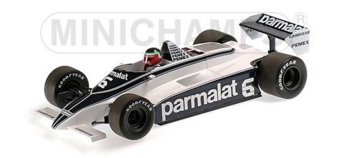 Maquette : MINICHAMPS - MINI117810006 - Brabham Ford BT49C F1 1981