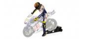 Maquette : MINICHAMPS - MINI312100046 - Figurine V.Rossi 2009