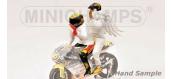 Maquette : MINICHAMPS - MINI312990096 - Figurine Rossi/Ange 1999