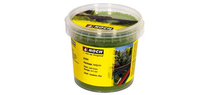 NOCH NO 07241 - Flocage, vert clair 30 g