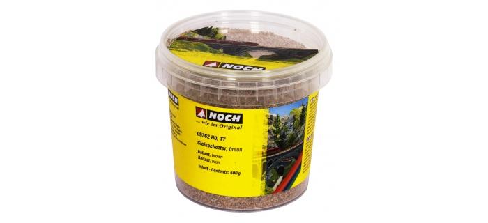 NOCH NO 09362 - Ballast brun, 500 g