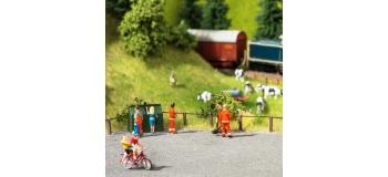 Train électrique : NOCH NO14232 - Laster-Cut barrière de route