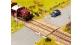 Modélisme ferroviaire : NOCH NO 14624 - Passage à niveau de planches de bois laser-Cut