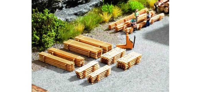 Train électrique : NOCH NO 14628 - Piles de planches