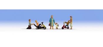 train électrique : NOCH NO 15591 - Les parents et les enfants