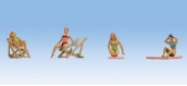 Modélisme ferroviaire : NOCH NO36851 - Figurines bain de soleil