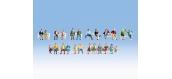 Modélisme ferroviaire :  NOCH NO 16130 - Set de figurines