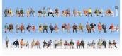 Modélisme ferroviaire : NOCH NO 18402 - Figurines Gens assis (méga-set)