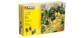 Modélisme ferroviaire : NOCH NO 24301 - Kit d'arbres à floquer