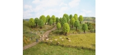 Modélisme ferroviaire : NOCH NO 26801 -25 arbres feuillus