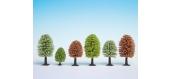 Modélisme ferroviaire : NOCH NO 26806 -25 arbres printaniers