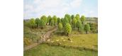 Modélisme ferroviaire : NOCH NO 32801 -25 arbres feuillus