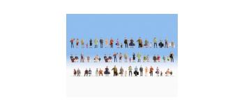 Modélisme ferroviaire : NOCH NO 38401 - Figurines en mega-set économique