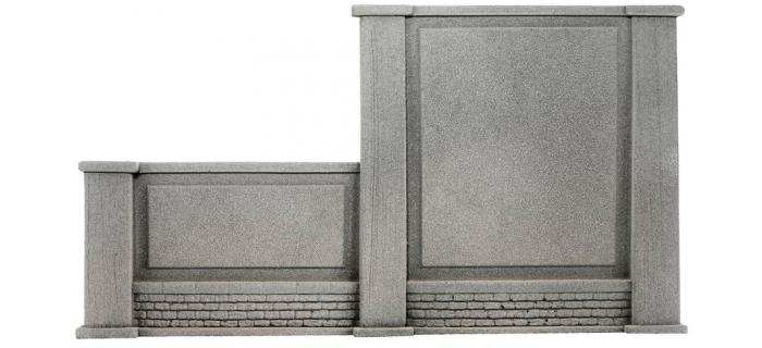 NOCH NO 58088 - Muraux, classés à gauche, 20,5 x 12,5 cm