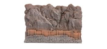 Modélisme ferroviaire : NOCH NO 58152 - Protection pour chutes de pierres