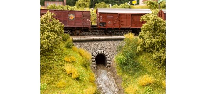 Modélisme ferroviaire : NOCH NO 58296 - Buse d'écoulement en forme de tunnel