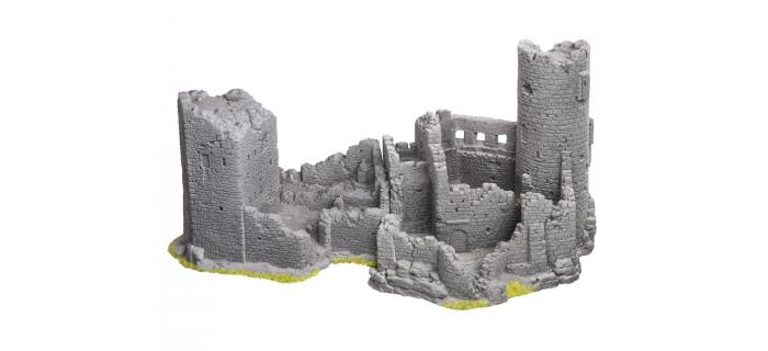 Modélisme ferroviaire : NOCH NO 58605 - Château en ruine