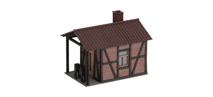 Modélisme ferroviaire : NOCH NO 66260 - Passage à niveau avec maison de gardien