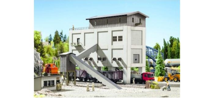 Modélisme ferroviaire : NOCH NO 66304 - Bâtiment de carrières ou gravières Laser cut