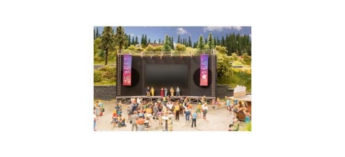 Modélisme ferroviaire : NOCH NO 66822 - micro-motion Open-Air Film festival