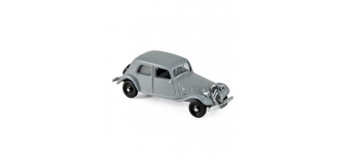 Modélisme ferroviaire : NOREV NORE153027 - Citroën 11 A 1937 - Grey