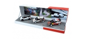 Miniatures : NOREV NORE511620 - Citroën DS3 Racing 2012 + DS3 R3 2012 + DS3 WRC Monte Carlo 2012 - Wi