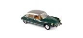 Miniatures : NOREV NORE157008 - Citroën DS 21 Pallas 1967 - Jura Green & Silver