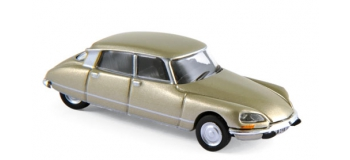 Train électrique : NOREV NORE147077 -  Citroen DS 23 Pallas 1973 - Tholonet Beige