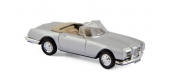 Modélisme ferroviaire :  NOREV NORE453003 - Facel Vega III Cabriolet 1963 - Silver