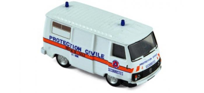 Modélisme ferroviaire : NOREV NORE472112 - Peugeot J9 1982 - Protection Civile