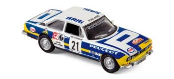 Modélisme ferroviaire : NORE475461 - Peugeot 504 Coupe - Rallye du Bandama 1976
