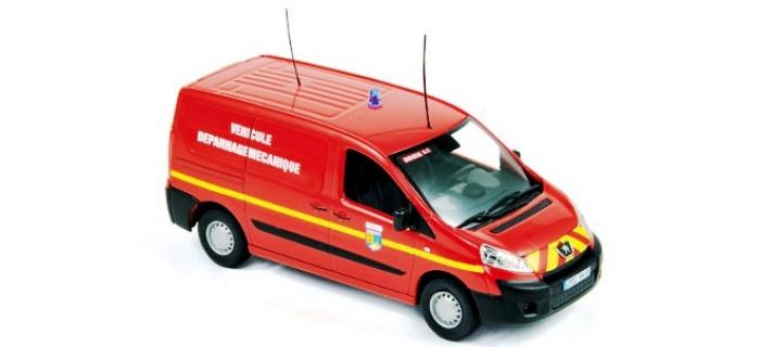 Train électrique : NOREV NORE517671 - Peugeot Expert 2007 - Pompiers Véhicule