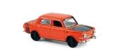 Modélisme ferroviaire :  NOREV NORE571093 - Simca 1000 Rallye 2 1974 (x4) -Sumatra Red