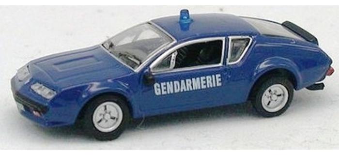 Modélisme ferroviaire : NOREV NORE517814 - Alpine A310 1977 de la Gendarmerie