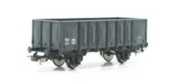 PI 96023 - Wagon tombereau SNCF, gris foncé - PIKO