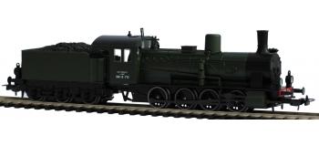 SAI 1415SF - Locomotive a? vapeur 040 B 713, SNCF, avec son et fumigène - PIKO