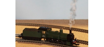 TRAIN MINIATURE PIKO SAI 1415SF - Locomotive a? vapeur 040 B 713, SNCF, avec son et fumigène - PIKO